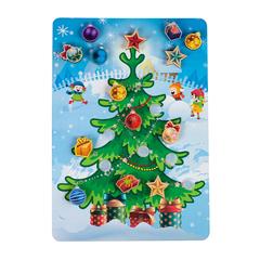 Игровой набор «Липучка Новогодняя елочка»