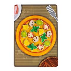 Игровой набор «Липучка Пицца грибная»