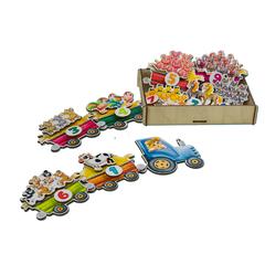 Игровой набор «Липучка Поезд с овощами»