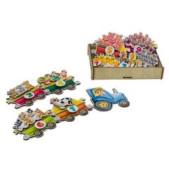 Игровой набор «Липучка Трактор с животными»