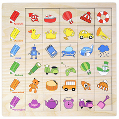Игровой набор Ассоциации Цвет
