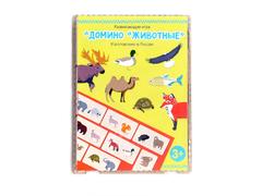 Игровой набор Домино Животные