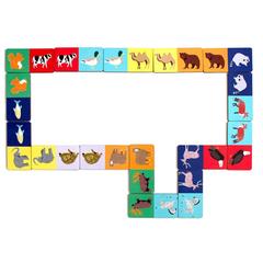 Игровой набор Домино Животный мир