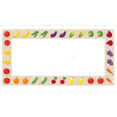 Игровой набор Домино Овощи-фрукты