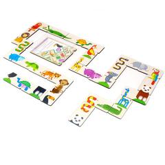 Игровой набор Домино Тропические животные