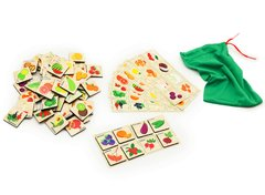 Игровой набор Лото грибы-ягоды