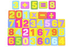 Игровой набор Цветные цифры
