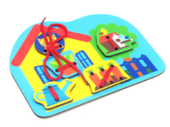 Игровой набор Шнуровка Дом