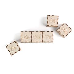 Кубики «Алфавит»