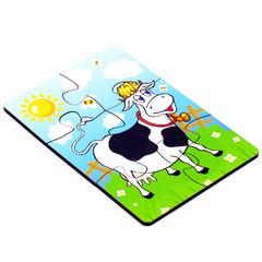 Пазл Корова 6 элементов