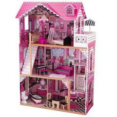 """Кукольный домик для Барби """"Амелия"""" (Amelia), с мебелью, в подарочной упаковке"""