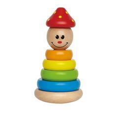 Игрушка Пирамидка Клоун