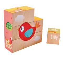 Кубики Лили 9 элементов