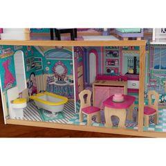 """Трехэтажный дом для кукол Барби """"Аннабель"""" (Annabelle) с мебелью 17 элементов в подарочной упаковке"""