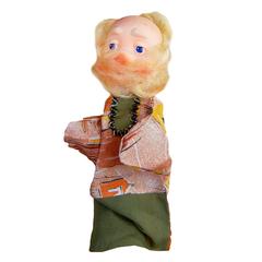 Кукла-перчатка Дед  28 см