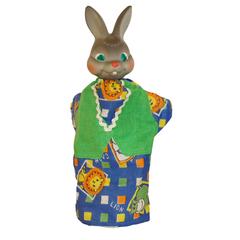 Кукла-перчатка Заяц  28 см