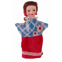 Кукла-перчатка Красная шапочка  28 см