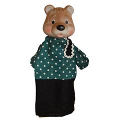 Кукла-перчатка Медведь  28 см
