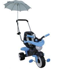 Велосипед 3-х колёсный Амиго №2 с ограждением, клаксоном, ручкой, ремешком, мягким сиденьем и зонтиком