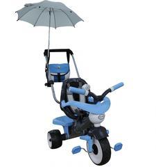 Велосипед 3-х колёсный Амиго №2 с ограждением, клаксоном, ручкой, ремешком, мягким сиденьем, сумкой и зонтиком