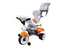 Велосипед 3-х колёсный Дидактик №2 с игровой панелью, ручкой, ремешком, чехлом и сумкой