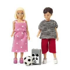 Набор кукол для домика школьники