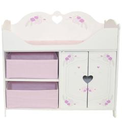 Кроватка-шкаф для кукол серия Розали Мини, цвет Пастель