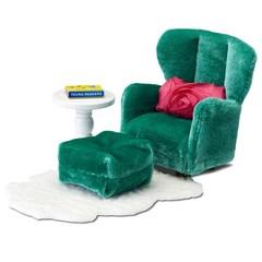 Кукольная мебель Смоланд Кресло с пуфиком