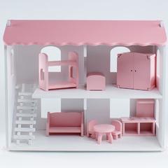 Кукольный дом Даниэла с мебелью 6 предметов