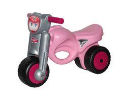 Каталка-мотоцикл Мини-мото, розовая