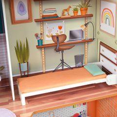 Кукольный домик Марлоу, с мебелью 14 элементов