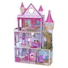 Кукольный домик Розовый Замок