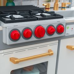Кухня игровая Давай готовить, цвет: белый