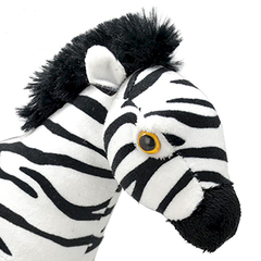 Мягкая игрушка Зебра, 25 см