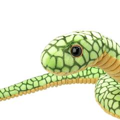 Мягкая игрушка Зелёная змея, 25 см