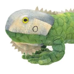 Мягкая игрушка Зелёная игуана, 25 см