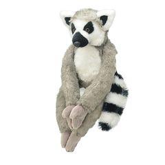 Мягкая игрушка Лемур, 25 см
