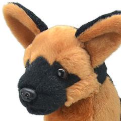 Мягкая игрушка Немецкая овчарка, 20 см