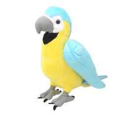 Мягкая игрушка Попугай Ара, 25 см