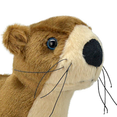 Мягкая игрушка Речная выдра, 25 см