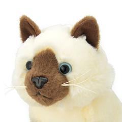 Мягкая игрушка Сиамская кошка, 20 см