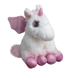 Мягкая игрушка Единорог розовый 20 см