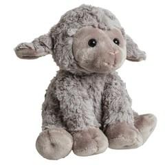 Мягкая игрушка Овечка серая 35 см