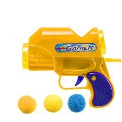 Детский пистолет с шариками.