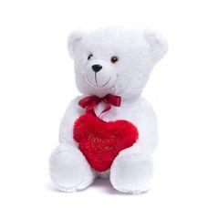 Мягкий Медведь с сердцем