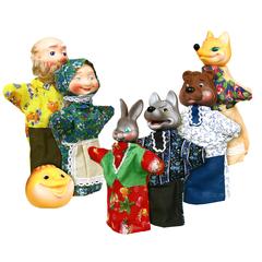 Кукольный театр  Колобок  7 персонажей