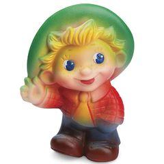 Резиновая игрушка Мальчик в шляпе