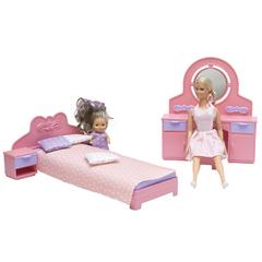 Спальня Маленькая принцесса нежно-розовая