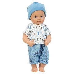 Моя первая кукла виниловая Дэнни 28 см