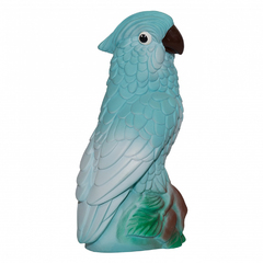 Резиновая игрушка Попугай Ара голубой, 21 см